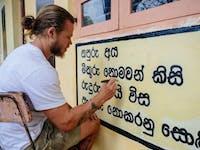 Temple Renovation volunteer in Sri Lanka IVHQ