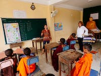 IVHQ Teaching volunteer classroom in Sri Lanka