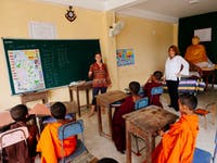 IVHQ Teaching volunteer classroom in Sri Lanka