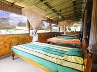 Volunteer house bedroom Sigiriya, Sri Lanka