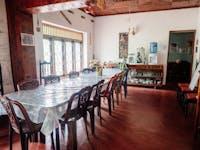Volunteer house dining room Kandy, Sri Lanka