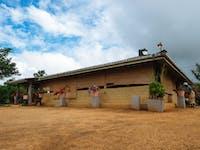 Volunteer house exterior Sigiriya, Sri Lanka