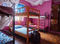 An IVHQ volunteer bedroom in Tanzania