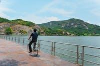 Exploring Hua Hin by bike during an IVHQ weekend