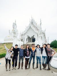 IVHQ volunteers visit White Temple during an IVHQ weekend