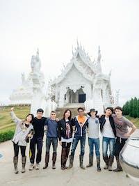 IVHQ volunteers visit White Temple during an IVHQ weekend