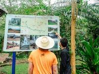 IVHQ volunteers trek in Chiang Rai during an IVHQ weekend