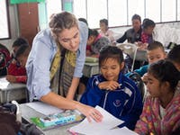 Teaching English volunteer in Thailand with IVHQ