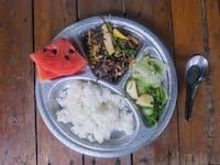 IVHQ Thailand volunteer Breakfast