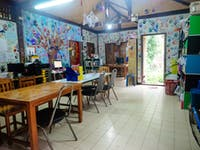 IVHQ volunteer teaching resource room in Thailand