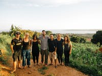 IVHQ volunteers catching a sunset in Uganda