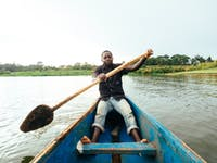 Visiting the Lake Victoria in Uganda with IVHQ