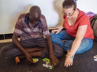 Special Needs volunteer in Uganda with IVHQ