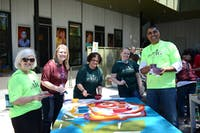 Volunteers on the Art and Community Outreach project in New Orleans