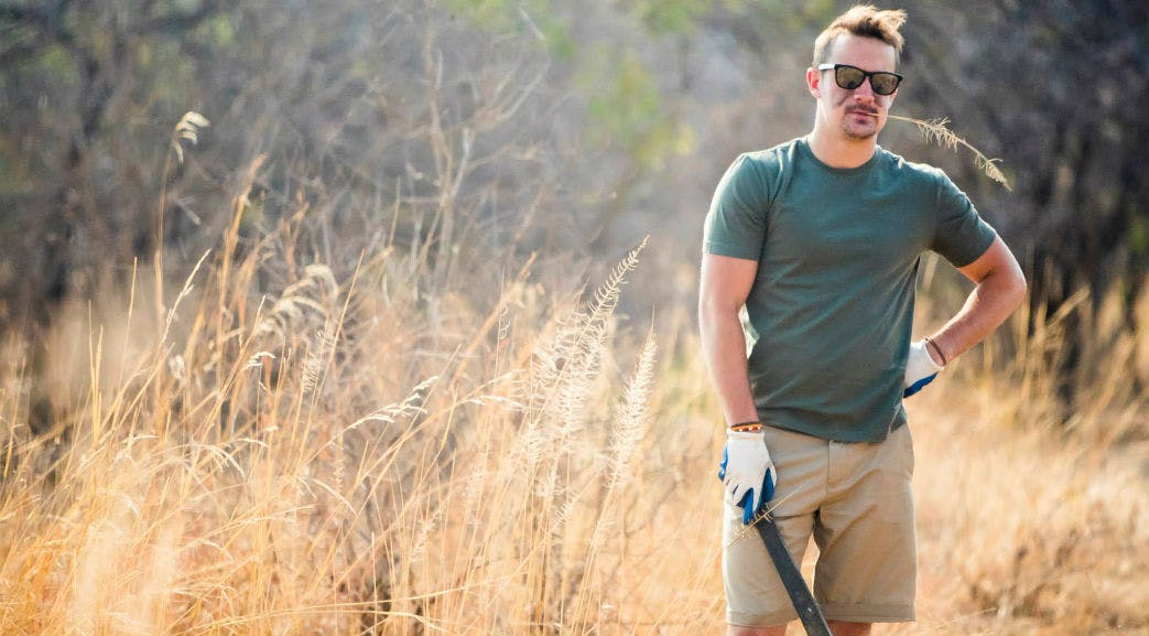 Volunteering on the Wildlife Conservation project