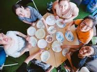 Volunteer cooking class with IVHQ in Vietnam