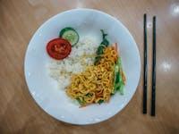 Volunteer dinner with IVHQ in Vietnam