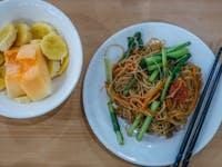 IVHQ volunteer Dinner with in Vietnam