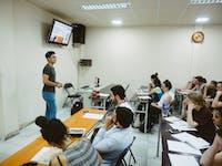 Volunteer language class with IVHQ in Vietnam