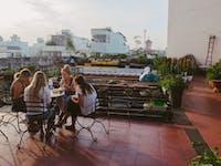 IVHQ Volunteer dining area in Ho Chi Minh, Vietnam