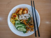 Volunteer lunch with IVHQ in Vietnam