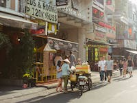 Exploring the streets of Ho Chi Minh in Vietnam with IVHQ