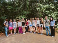 Volunteers visit Cu Chi Tunnels with IVHQ in Vietnam
