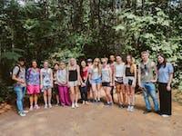 Volunteers visit Cu Chi Tunnels with IVHQ in Vietnam