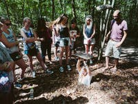 IVHQ Volunteers visit Cu Chi Tunnels in Vietnam