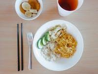 Volunteer Breakfast with IVHQ in Vietnam