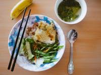 IVHQ volunteer lunch with in Vietnam