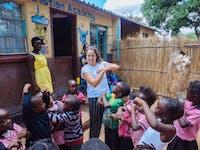Volunteer in Kindergarten with IVHQ in Zambia