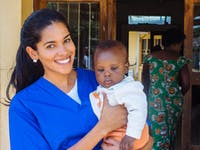 Medical volunteers in Zambia with IVHQ