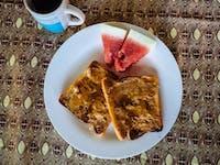IVHQ Zambia volunteer Breakfast