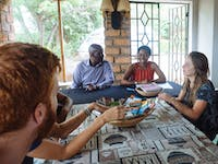 Volunteer Orientation in Zambia
