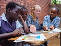 Volunteer as a teacher with IVHQ in Zambia