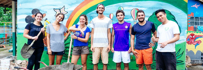 Australian volunteer overseas with IVHQ