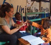 British volunteers abroad in Kenya with IVHQ