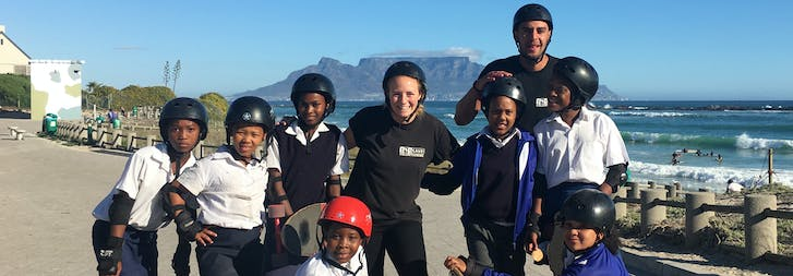 Volunteer Abroad in South Africa - Table View with IVHQ