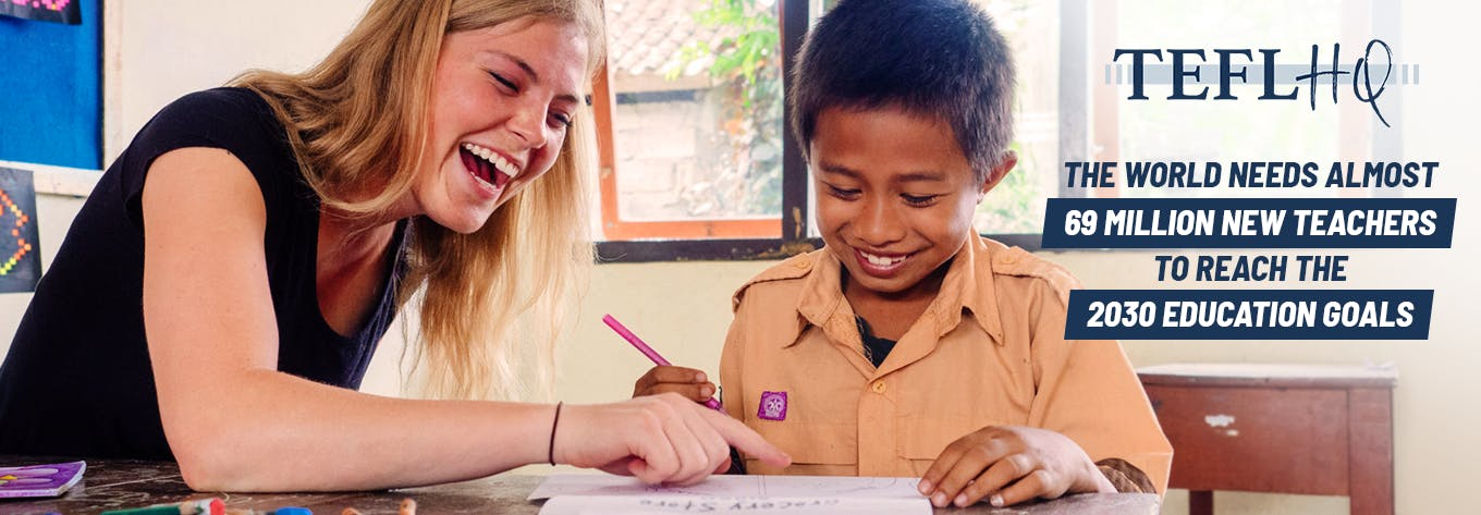 Join an online TEFL course with TEFL HQ and International Volunteer HQ