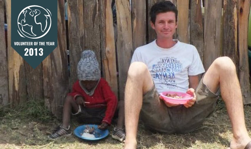 IVHQ Volunteer of the Year 2013 - Marcus Gregar-Rive