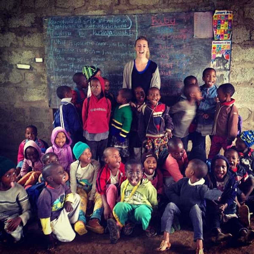 The Aston Villa classroom in Tanzania