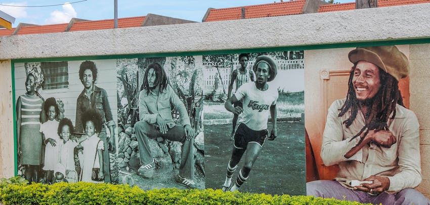 Visiting the Bob Marley Museum in Kingston with IVHQ in Jamaica
