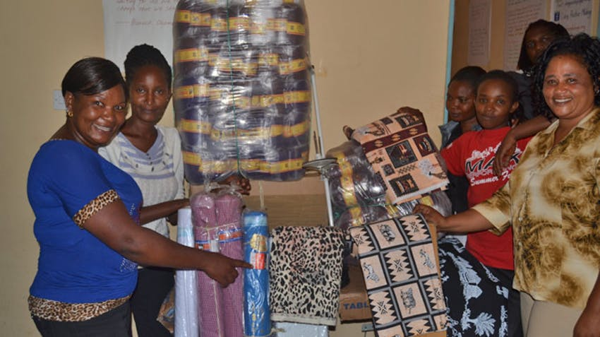 IVHQ Booster Grant - Living Positive Mlolongo - delivery