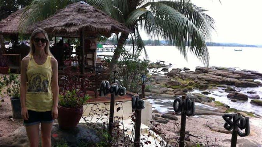 Visit Sihanoukville Beach during an IVHQ weekend