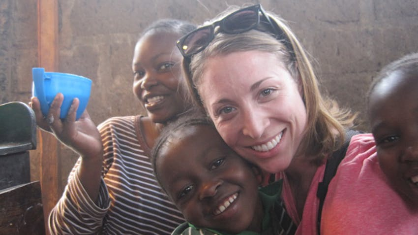 IVHQ volunteer of the Year finalist, Cara Lawler