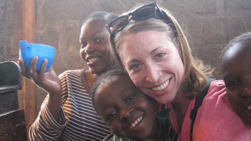 IVHQ 2014 Volunteer of the Year Cara Lawler