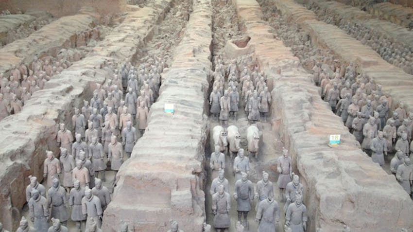 Visit the Terracotta Warriors during an IVHQ weekend