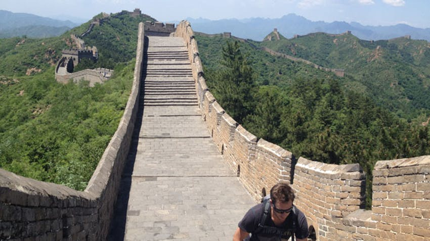 Travel to the Great Wall of China as a volunteer abroad