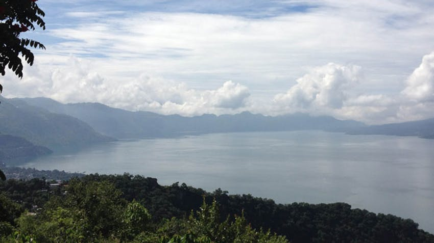 Visiting Lake Atitlan as an IVHQ volunteer in Guatemala